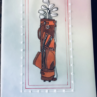 A card for the Golf Enthusiast