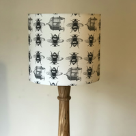 Bees and Beehives Drum Lampshade 25cm Diameter