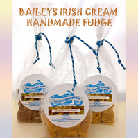 Baileys Irish Cream Handmade Fudge, No Additives, No Colourings, Made in Devon.
