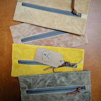 Naturally Dyed Pencil Case