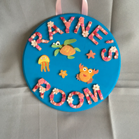 Personalised Door Hanger
