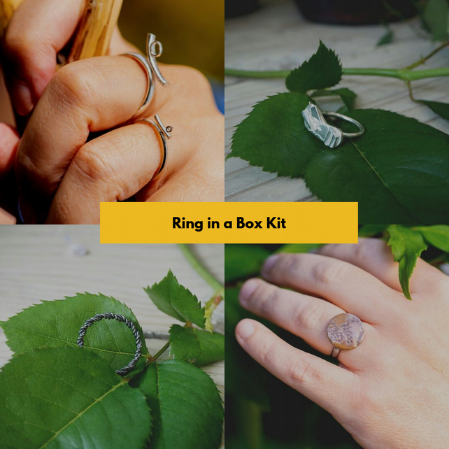 Ring in a Box Kit - everything you need to create a custom ring (gift)