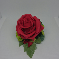 Red Rose Ladies Lapel,Wrist,Handbag Corsage