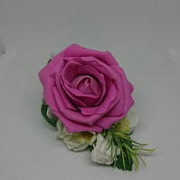 Pink Rose Ladies Lapel,Wrist,Handbag Corsage