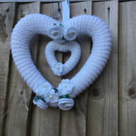 Small wedding wreath