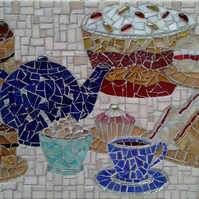 Time for tea- Indoor Mosaic