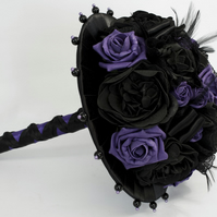 Gothic Style Posy Wedding Bouquet