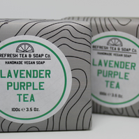 Lavender Purple Tea Soap