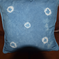 Cushion - Indigo Dyed Organic Cotton