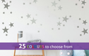 SHAPES wall stickers decals