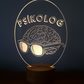 3D Psychologist Lamp
