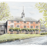 Whitchurch Silk Mill, Whitchurch Hampshire - Limited Edition Art Print