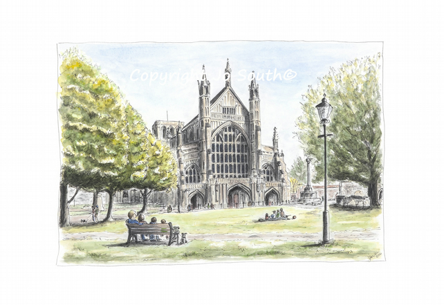 Winchester Weekends, Winchester, Hampshire - Limited Edition Art Print