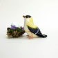 Bird Ornament - Goldfinch - Yellow Bird - Mother's Day Gift - Easter Decor