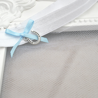 Horseshoe Good Luck Bridal Toss Garter 'Destiny'