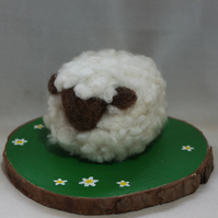 Maureen  - Needle felted sheep sculpture