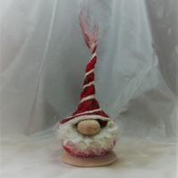 Kevin the little gnomti tomti (red and white hatted gnome)