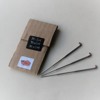 36 gauge MEDIUM triangular needle felting needles