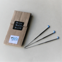 40 gauge FINE triangular needle felting needles