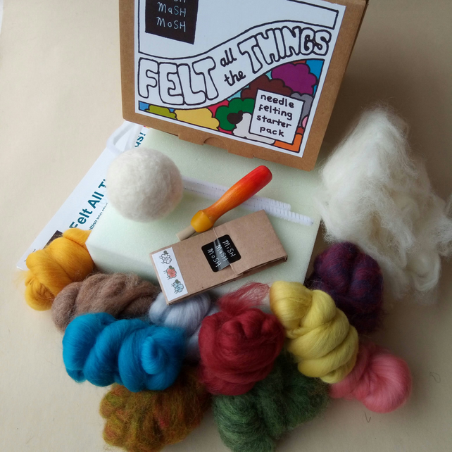 Felt All The Things - BASIC Needle Felting Starter Pack