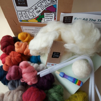 Felt More Of The Things - SUPER Needle Felting Starter Pack