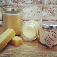 Handmade Honey & Lavender Beeswax Hand Cream 110ml
