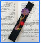 Little Red Flower Bookmark