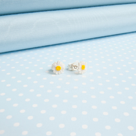Tiny Daisy Stud Earrings