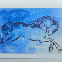 A4 PRINT 'out of the blue'