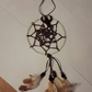 Brown feathery dream catcher