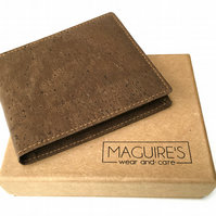 Cork Slim Bifold Wallet