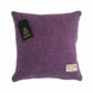 "Harris Tweed 14"" Cushion Cover Double Sided - Violet Lilac Purple 14"" x 14"""