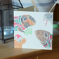 Pack of 10 PET GUINEA PIG Christmas cards by Yorkshire artist Jess Chappell