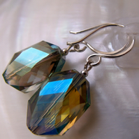 Crystal Earrings, Dangle Earring Design F19