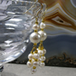 Pearl Earrings, Beautiful Pearl Drop Earrings F24