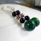 Long Drop Gemstone Earrings MS564