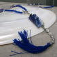 Blue Necklace, Long Blue Necklace FN6