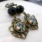 Vintage Style Dangle Earrings, Handmade Drop Earrings FE99