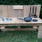 Rustic Kids Mud Kitchen, Child's Outdoor Messy Sensory Play - Garden Toy