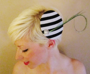 Beetlejuice Fascinator