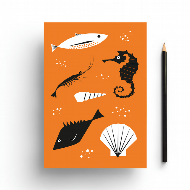 Under the Sea A5 Notebook