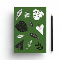 Plant Life A5 Notebook