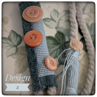 Cotton rope dog leash-Design 2