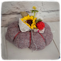 Summer garden pin cushion-Design 5