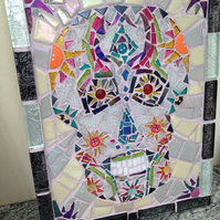 Mexican candy skull Mosaic
