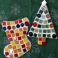 Mosaic Christmas DIY craft kit