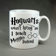 Harry Potter Mug Cup - Hogwarts Teacher Christmas Birthday School Present Gift