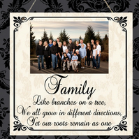 Personalised Photo Plaque Family Dad Mum Nanny Christmas Anniversary Gift