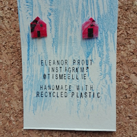 Red House Earrings