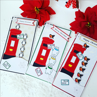 Christmas card pack, pack of Christmas cards,